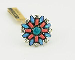 【送料無料】ブレスレット リングモザイクkonplott anello ethnic mosaic nuovo n 5450543104652