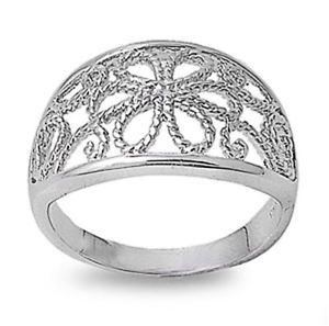 【送料無料】ブレスレット リングargento sterling matrimonio amp; anello di fidanzamento anello filigranata