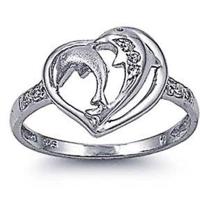 【送料無料】ブレスレット エンゲージリングクリアリングデルフィーノargento sterling matrimonio amp; anello di fidanzamento chiaro cz anello delfino