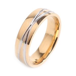 【送料無料】ブレスレット ステンレスリングリングanello in acciaio inossidabileanello da donnaanello di fidanzamento