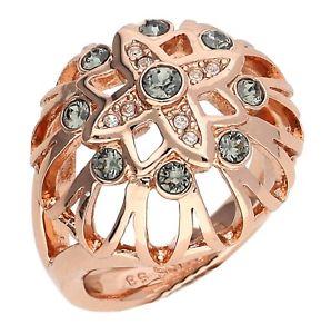 【送料無料】ブレスレット リングメタルピンクゴールドguess donna dito anello metallo oro rosa glossom ubr61012