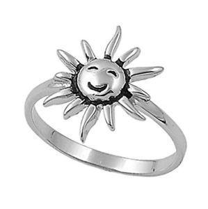【送料無料】ブレスレット リングサンargento sterling matrimonio amp; anello di fidanzamento anello sole