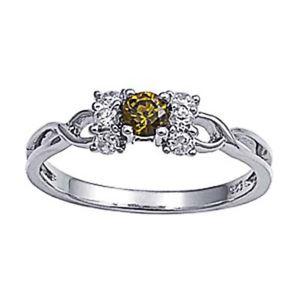 【送料無料】ブレスレット クリアリングオリーブargento sterling matrimonio amp; anello di fidanzamento verde oliva, chiaro cz donna anello
