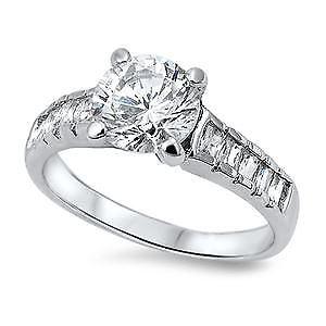 【送料無料】ブレスレット スターリングシルバーリングlittle treasures argento sterling anello cz