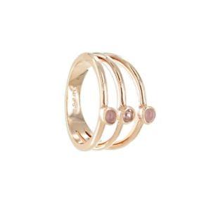 【送料無料】ブレスレット ステンレススチールエスプリリングesprit donna anello in acciaio inox ros tg 18 esrg 02729c180