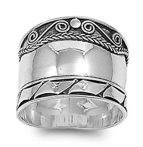 【送料無料】ブレスレット リングバリデザインargento sterling matrimonio amp; anello di fidanzamento anello bali design