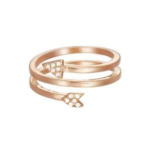 【送料無料】ブレスレット エスプリリングesprit anello da donna argento ros zirconi esrg 02870c1