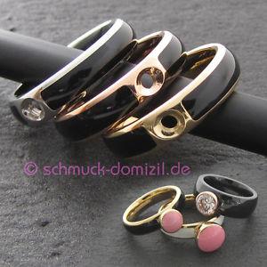 【送料無料】ブレスレット ツイストリングauslaufmodell melano twisted resin ring gr 58 edelstahl schwarz