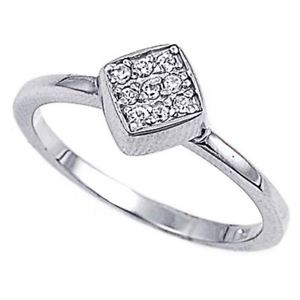 【送料無料】ブレスレット エンゲージリングクリアリングセットargento sterling matrimonio amp; anello di fidanzamento chiaro cz pave set anello mm