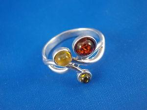 【送料無料】ブレスレット ファッションオレンジリングシルバーマルチカラーオレンジmoda amber anello argento 925 multicolore 18 , 5mm ambra