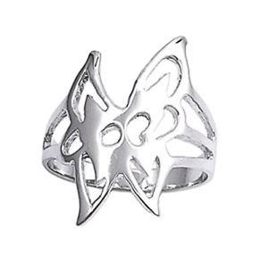 【送料無料】ブレスレット スロットルリングargento sterling matrimonio amp; anello di fidanzamento anello farfalla