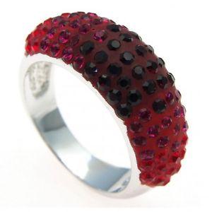 【送料無料】ブレスレット phantasya anelli rosso con swarovski pr122