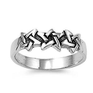 【送料無料】ブレスレット argento sterling matrimonio amp; anello di fidanzamento anello a stella