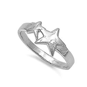 【送料無料】ブレスレット リングargento sterling matrimonio amp; anello di fidanzamento anello di stelle