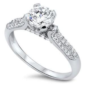 【送料無料】ブレスレット スターリングシルバーsterling silver cz anello di fidanzamento