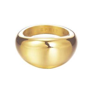 【送料無料】ブレスレット ステンレススチールエスプリリングesprit donna anello in acciaio inox oro organic esrg 12383b1