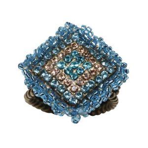 【送料無料】ブレスレット リングkonplott anello beduin bluastroverde