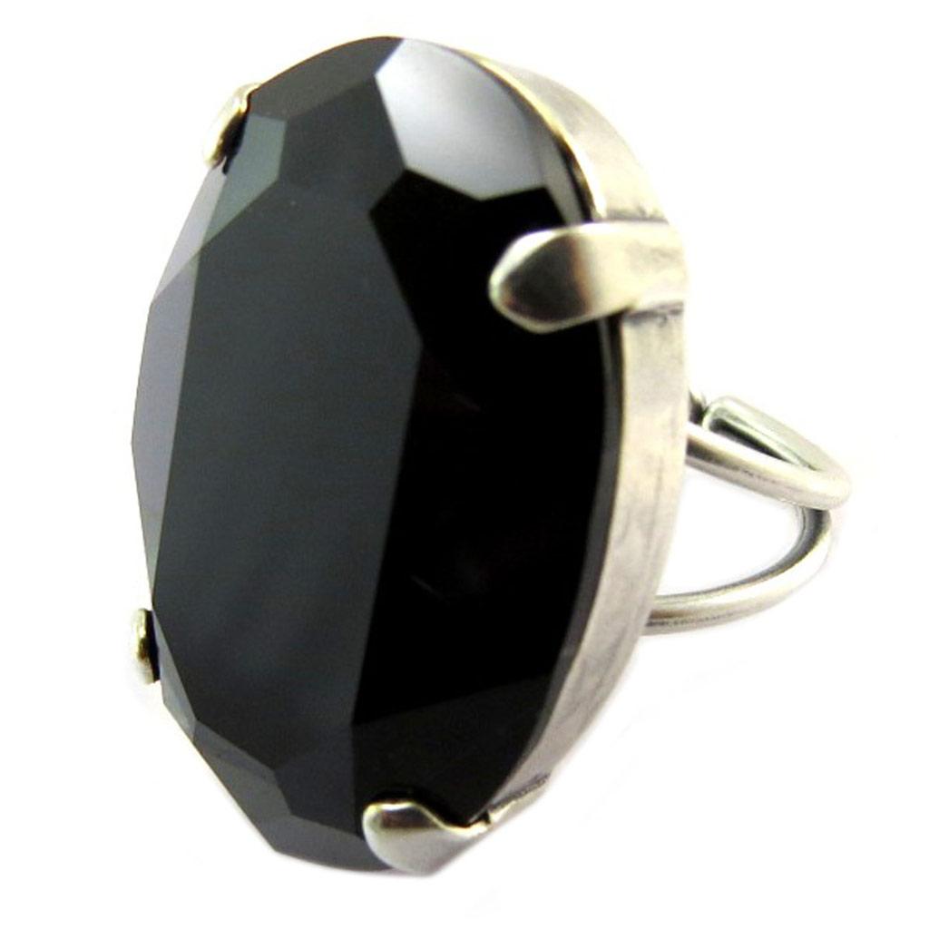 【送料無料】ブレスレット ノワールpromo 24, lilycrystal [p5194] bague artisanale tsarine noir argent