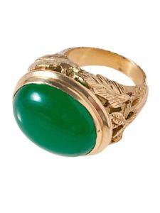 【送料無料】ブレスレット リングbrigitte di bochselwyn anello verde 34,95 1stk
