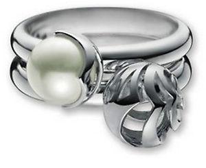 【送料無料】ブレスレット リングtgガラスビーズesprit anello set tg 5417 mm credo con perline di vetro esrg 91264a017