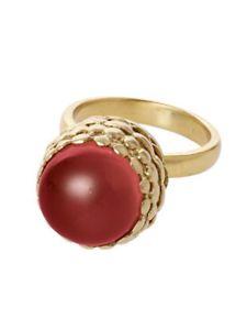 【送料無料】ブレスレット リングブリジットbrigitte di bochkirov ring rosso 34,95 1stk