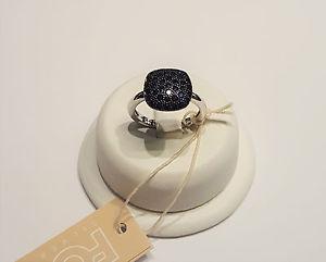 【送料無料】ブレスレット シルバーリングスワロフスキーサファイアfogi anello in argento e swarovski zaffiri bla318