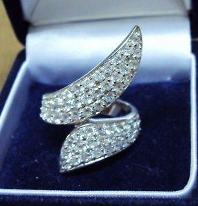 【送料無料】ブレスレット シルバーリングn650 anello in argento 925 trattato con zirconi 14