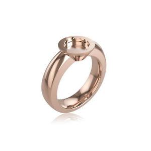 【送料無料】ブレスレット リングピンクスチールサイズanello donna acciaio rosa misura 16 tj2061 breil stones