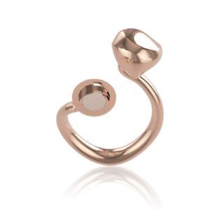 【送料無料】ブレスレット リングピンクスチールサイズanello donna acciaio rosa misura 14 tj2098 breil stones