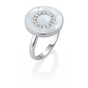 【送料無料】ブレスレット リングコレクションanello morellato collezione perfetta salx09 49 argento madreperla cristalli