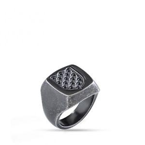 【送料無料】ブレスレット リングmorellato anello nobile uomo sakb23  misura dito 19