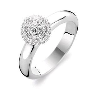 【送料無料】ブレスレット シルバーリングti sento anello argento swarovsk 1443zi