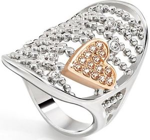 【送料無料】ブレスレット リングスチールゴールドミスanello morellato donna sada09 cuoremio acciaio , oro e cristallimis14