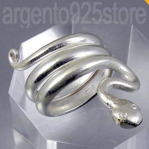 【送料無料】ブレスレット リングシルバーヘビヘビスパイラルアオanello donna argento 925 snake serpente spiral ao