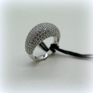 【送料無料】ブレスレット シルバーリングanello pave in argento 925 e zirconi byblos jewels