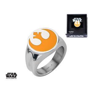 【送料無料】ブレスレット スターウォーズリングシンボルサイズリングstar wars ring rebel alliance symbol size 10 saso anelli