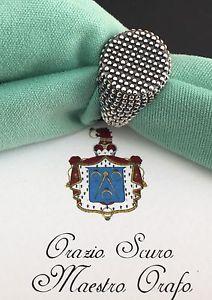 【送料無料】ブレスレット シルバーラウンドリングanello tondo in argento 925
