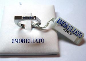 【送料無料】ブレスレット リングキューピッドスチールサファイアリストmorellato anello cupido acciaio zaffiri n16 listino 59