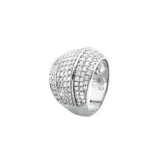 【送料無料】ブレスレット リングジュエルシークレットシルバーanello donna 2 jewels secret argento 925‰ e zirconi bianchi n17