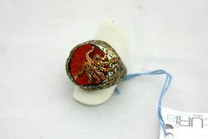 【送料無料】ブレスレット リングシルバーコーラルタコanello futuria silver jewels con corallo e piovra mis 15