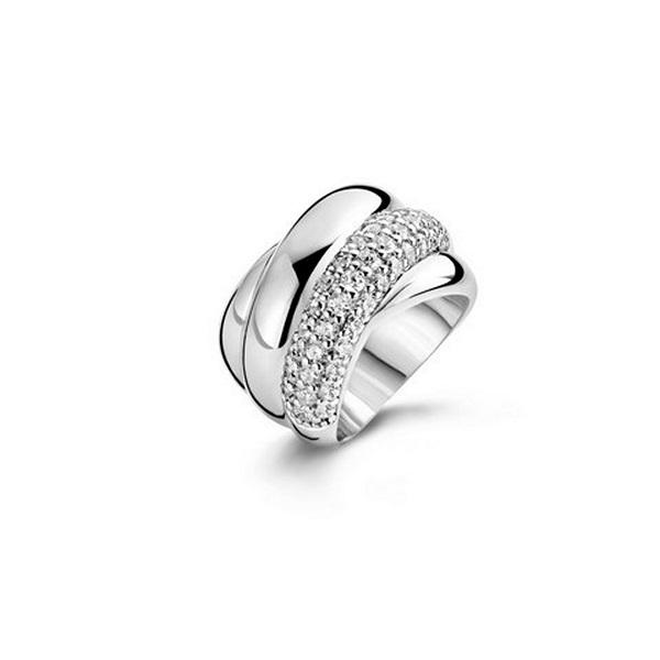 【送料無料】ブレスレット リングs0310575 anello donna ti sento 1642zi 15,92 mm