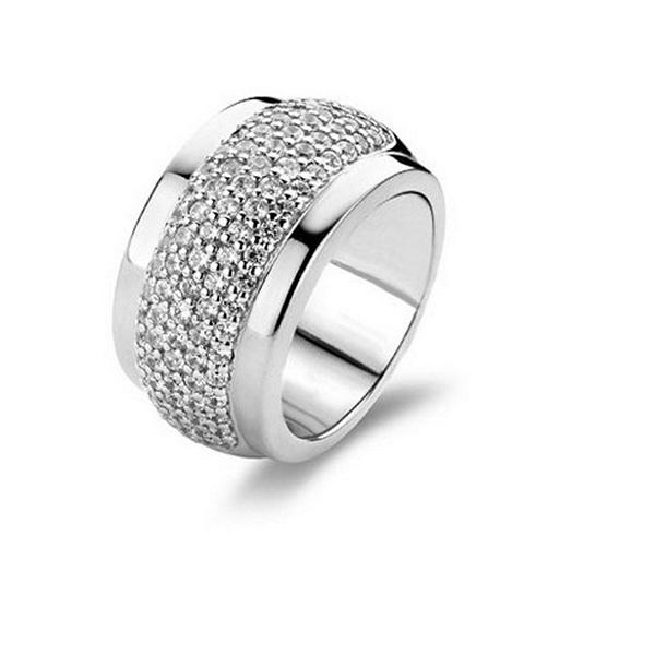 【送料無料】ブレスレット リングs0310598 anello donna ti sento 1696zi 15,92 mm