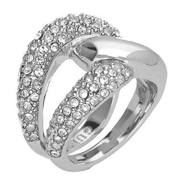 【送料無料】ブレスレット リングs0312908 anello donna guess ubr7250454 17,19 mm nuovo