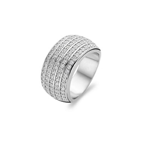 【送料無料】ブレスレット リングs0310651 anello donna ti sento 1774zi 18 mm nuovo