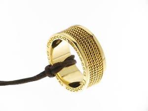 【送料無料】ブレスレット レベッカリングローマブロンズメッキゴールドイエローrebecca anello roma bronzo placcato oro giallofiligrana broabb01 mis15