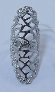 【送料無料】ブレスレット シルバーリング9venticinque by bibig anello in argento 925 e zirconi 7ana0005x