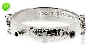 【送料無料】ブレスレット チェーザレリングcesare paciotti anello jpan0844b arg mis 24