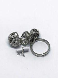【送料無料】ブレスレット シルバーリングボールanello in argento infinity due sfere