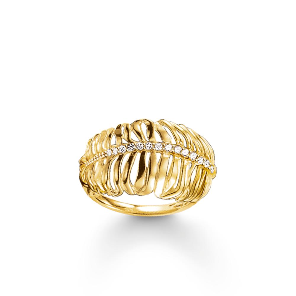 【送料無料】ブレスレット リングトーマスs0310035 anello donna thomas sabo tr19764141456 17,8 mm nuovo