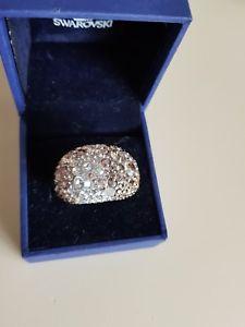 【送料無料】ブレスレット スワロフスキーリングシックminiera doro swarovski anello chic 60